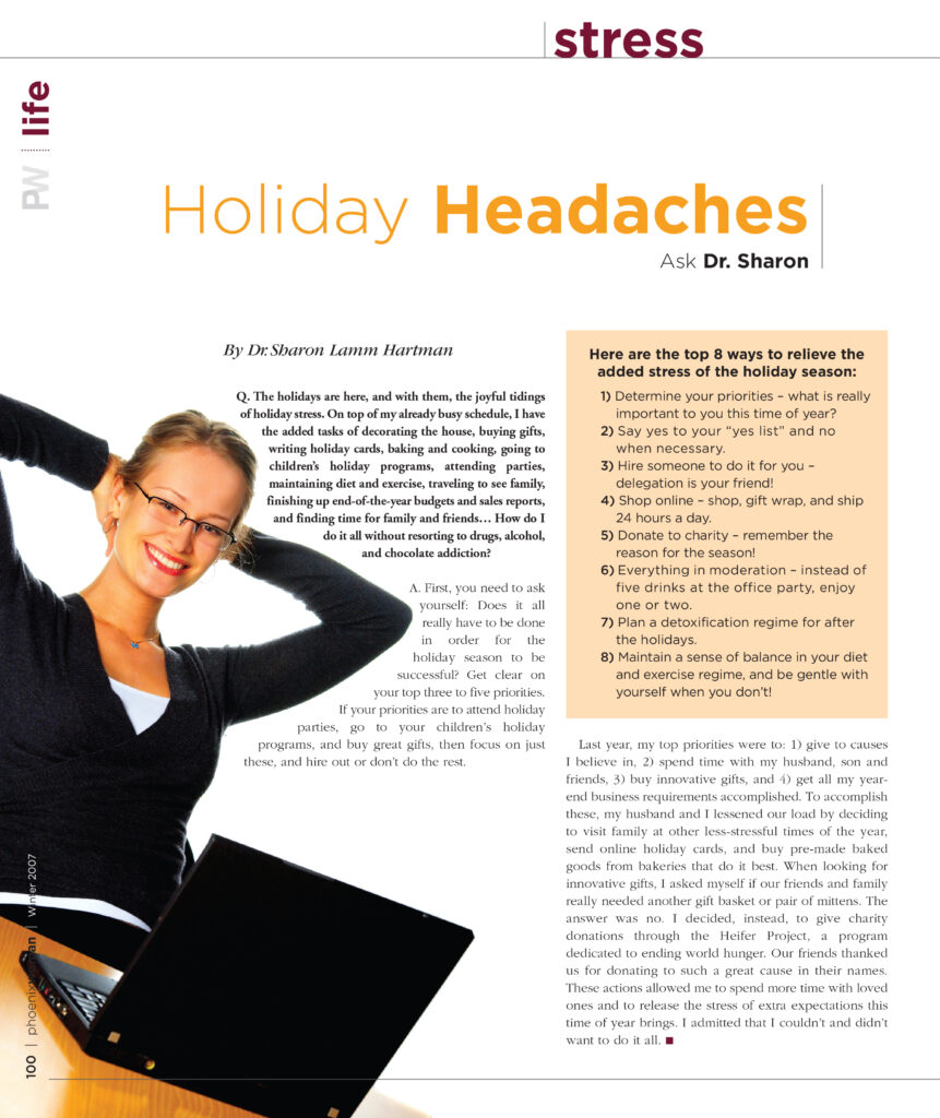 Holiday Headaches